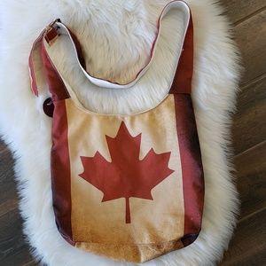 B2G1 NWOT Robin Ruth Canadian Flag Crossbody Bag
